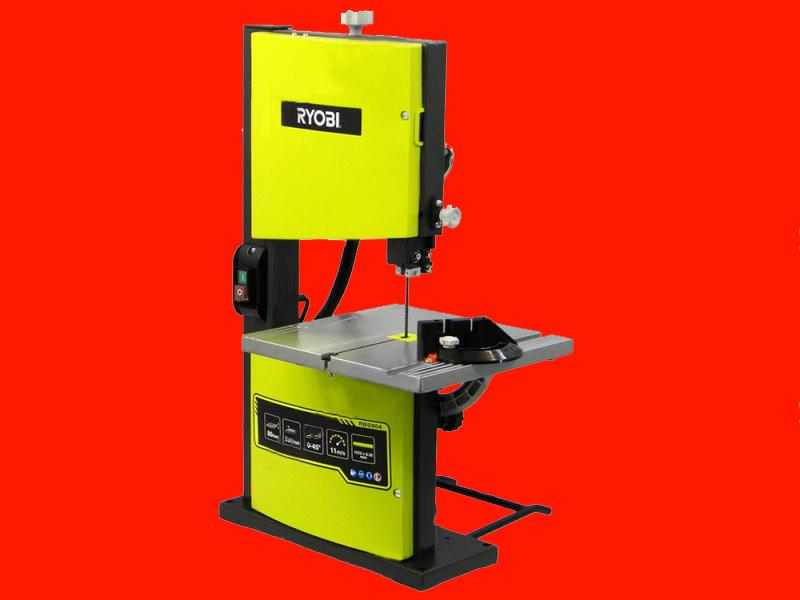 Ленточная пила 230x80 мм, 0.35 кВт RYOBI RBS904