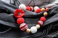 Слингобусы вязаные Маковка ФРЕЯ