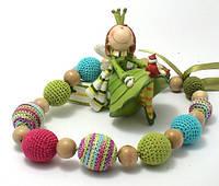Слингобусы вязаные Принцесса эльфов JANNA-D-ART