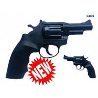 Револьвер под патрон Флобера Alfa 431 4 мм (черный/пластик)