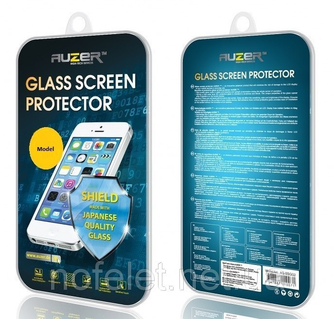 Защитное стекло AUZER Xiaomi Redmi Note 4 White Full Cover