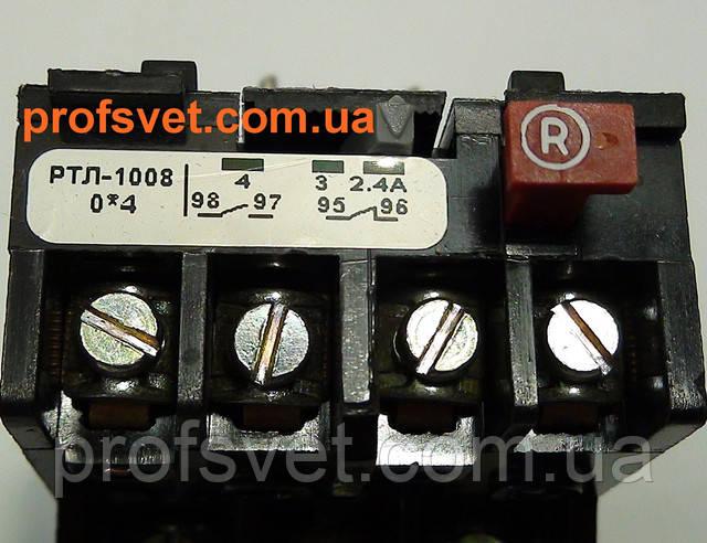фотография тепловое реле ртл-1008 регулировка тока 2.4-4а Этал