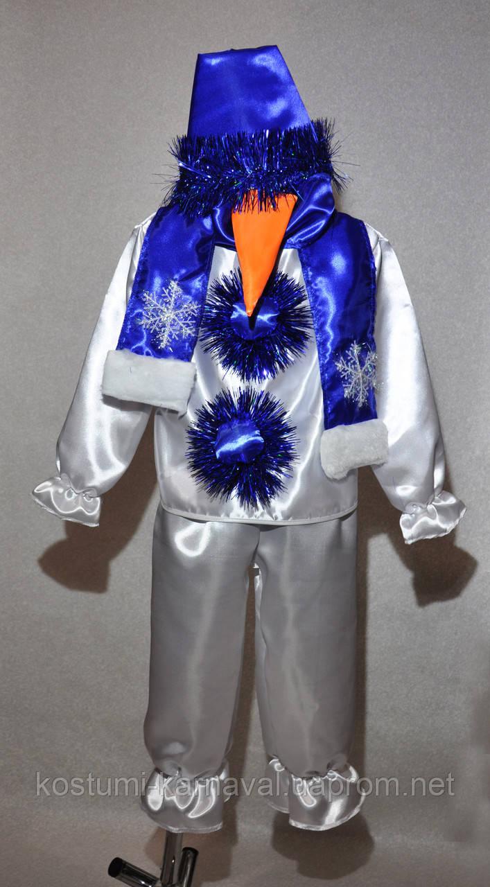 Снеговик Карнавальный .новогодний костюм для мальчика ... - photo#25