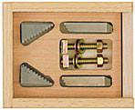 Ступенчатые зажимы PROXXON (пара) малые, фото 1