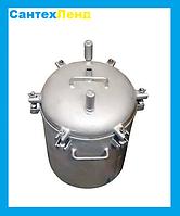 Автоклав бытовой для консервации (НИКОЛАЕВ) на 10 банок по 1 л (газ)