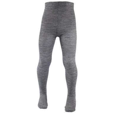 Термоколготки детские Merino Wool NORVEG (серый меланж, размер 74/80)