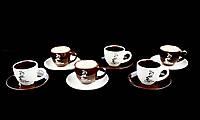 Подарочный Кофейный Сервиз 12 Предметов , фото 1
