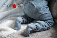 Термоколготки из шерсти мериноса MAM ManyMonths (размер 62-68/74, серый), фото 1