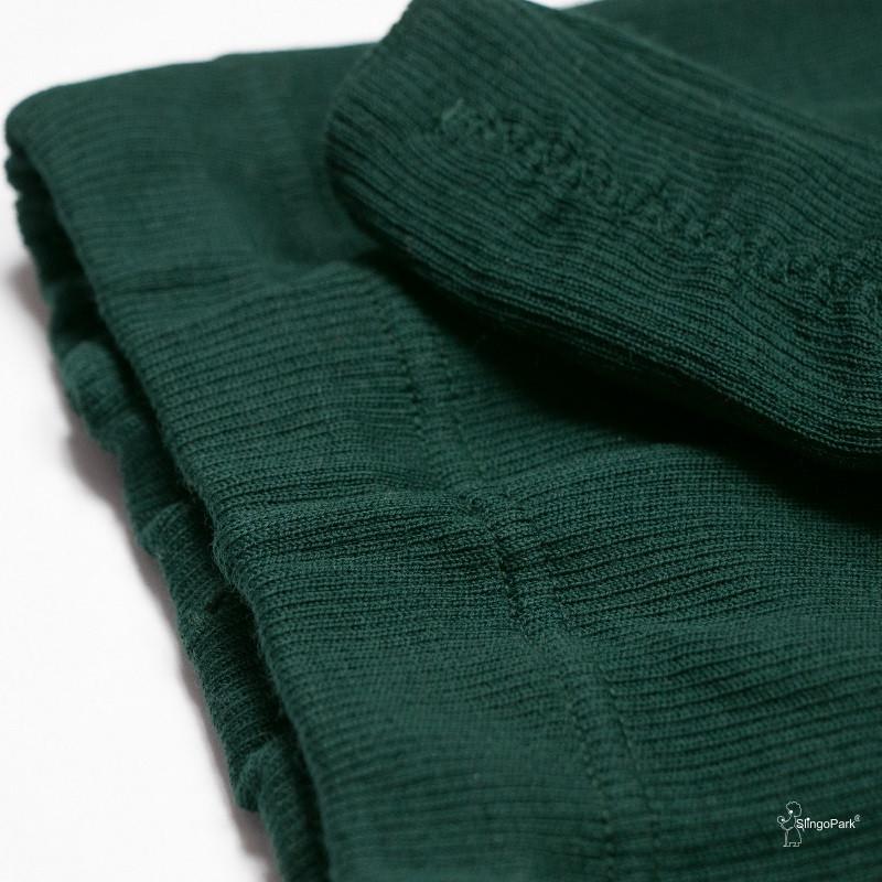 Термоколготки из шерсти мериноса MAM ManyMonths (размер 62-68/74, тёмно-зелёный)