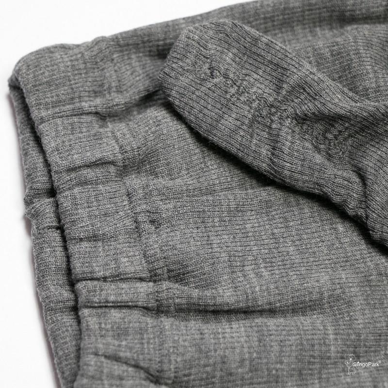 Термоколготки из шерсти мериноса MAM ManyMonths (размер 68-80/86, серый), фото 1