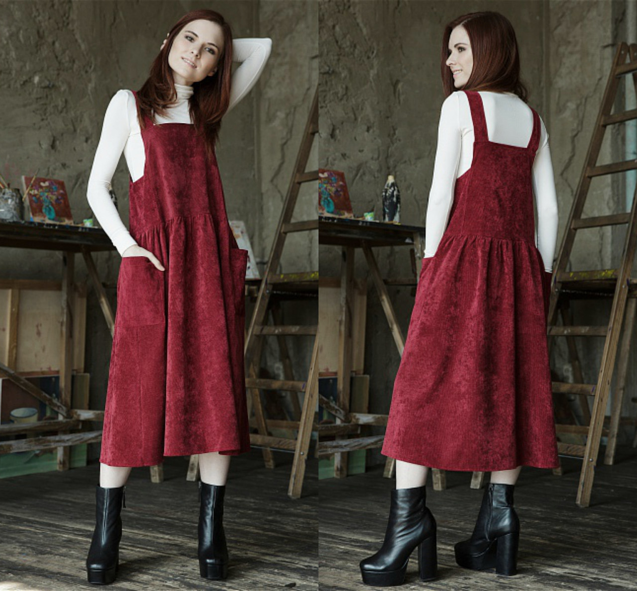 6cdc85e9464 Платье в клетку по индивидуальным меркам с доставкой по всей Украине