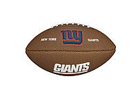 Мяч для Американского Футбола Wilson Nfl  New York Giants(WTF1533XBNG )