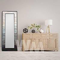 Зеркало в деревянной раме для торгового зала, магазина или бутика
