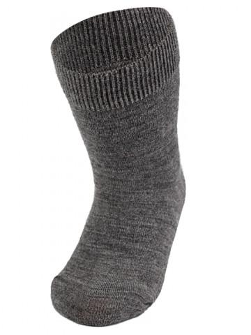 Термоноски детские Merino Wool NORVEG (серые, размер 19/22)