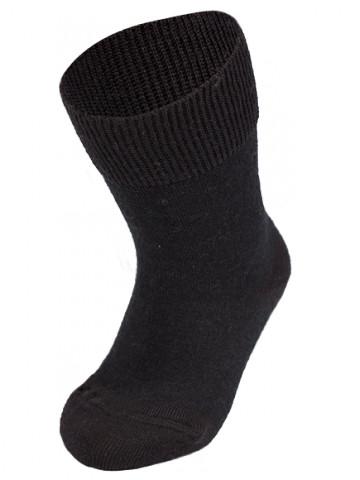 Термоноски детские Merino Wool NORVEG (чёрные, размер 19/22)