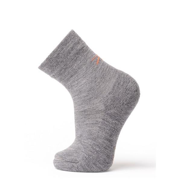 Термоноски детские Soft Merino Wool NORVEG (серые, размер 19/22)