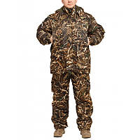 """Зимний костюм Камуфляж """"Камыш-2"""" мембранная ворса alova для охоты и рыбалки, удлиненная куртка"""