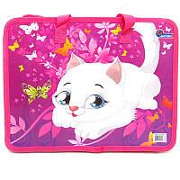 """Папка-портфель детская с ручками """"Kitty"""""""