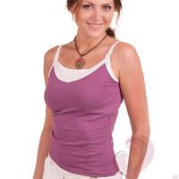 Майка для кормящих Фиалка Премиум ГРУДНИЧОК (размер 42,фиолетовый)