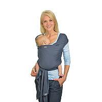 Трикотажный слинг-шарф HOPPEDIZ Anthracite