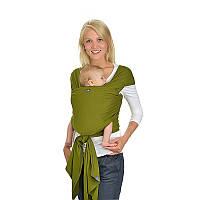 Трикотажный слинг-шарф HOPPEDIZ Olive