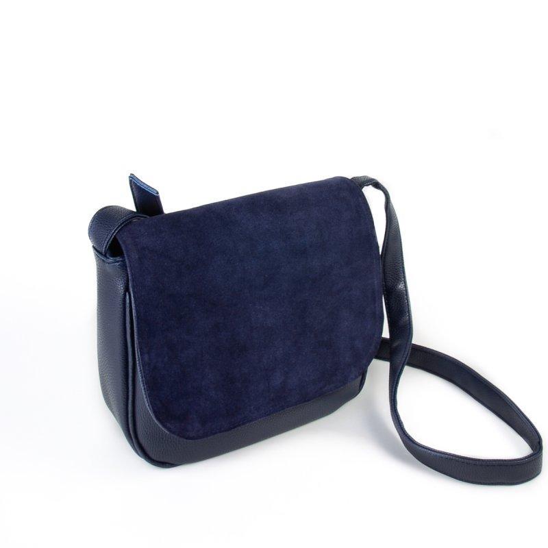 dfcaaae5455c Замшевая сумка кросс-боди стильная и модная М52-замш/39, цена 455 ...