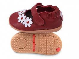 Детские туфли из натуральной кожи SHOOSHOOS Red flower SMY5 (размер 8)