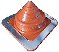 Кровельный проход 5-76мм Dektite Premium (Master Flash) для металлических и битумных крыш Красный силикон