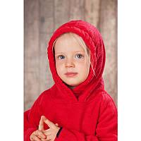 Флисовый джемпер HOPPEDIZ (размер 62-68, красный), фото 1