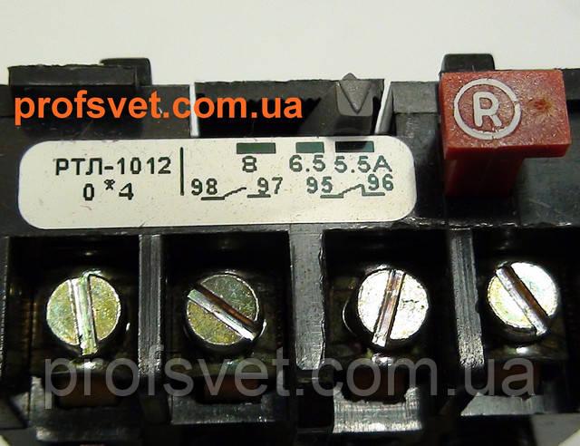 фотография тепловое реле ртл-1012 регулировка тока 5.5-8а Этал
