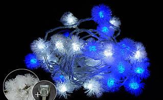 "LED40 ""ПУХНАСТИК"" BLUE-WHITE"