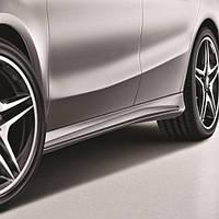 Обвесы боковых порогов AMG Mercedes-Benz CLA-Class C117 Новые Оригинальные