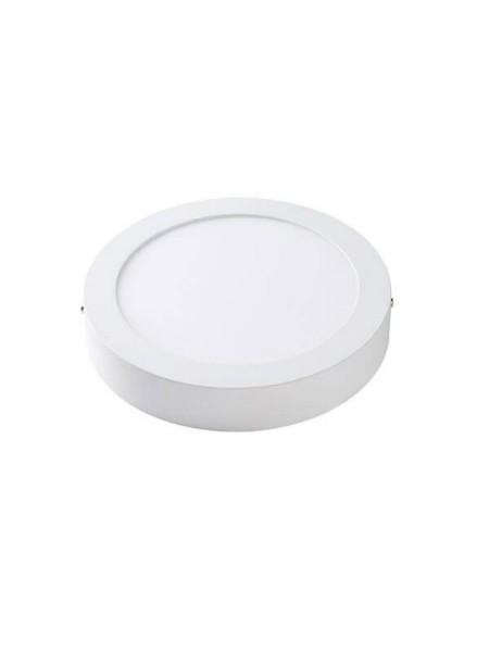 Светодиодная панель круглая накладная