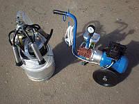 Доильный аппарат АИД -1 Р масляный, стаканы нержавейка (Без защитного кожуха)