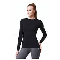 Термофутболка женская Soft NORVEG (черный, размер XS)
