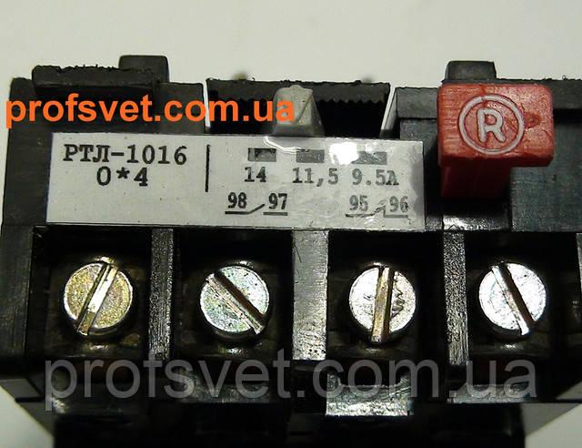 фотография тепловое реле ртл-1016 регулировка тока 9.5-14а Этал