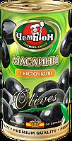 """Маслини з кісточкою ТМ """"Чемпіон"""", 370мл"""