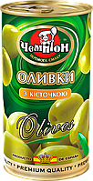 Оливки с косточкой ТМ Чемпион, 370мл