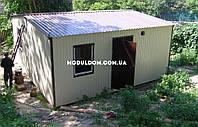 Модульный дачный дом 6х6м