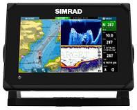 Эхолот-картплоттер Simrad GO7 XSE, в комплекте датчик TOTALSCAN