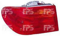 Фонарь задний для Mercedes Е-Class W210 '95-99 правый (DEPO) внешний, красный