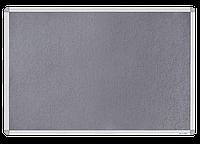 Доска магнитно-текстильная, 60x90см, алюминиевая рамка bm.0020