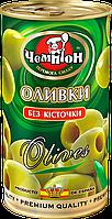 Оливки без косточки ТМ Чемпион, 370мл