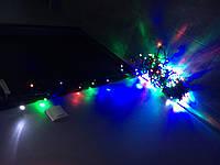 Светодиодная гирлянда  мульти флеш 20 метров