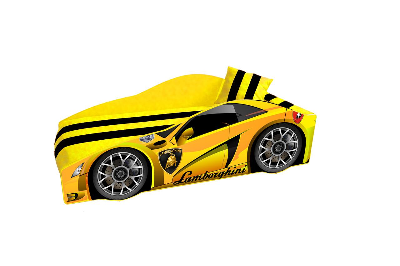 """Кровать Lamborghini E-3 желтый  (серия """"ЭЛИТ"""")"""