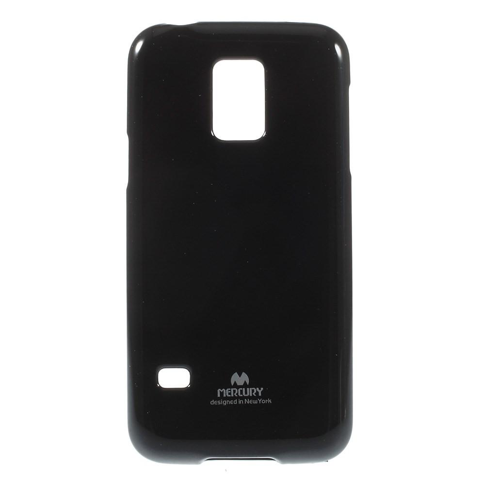 Чехол накладка силиконовый TPU Mercury для Samsung Galaxy S5 mini G800 черный