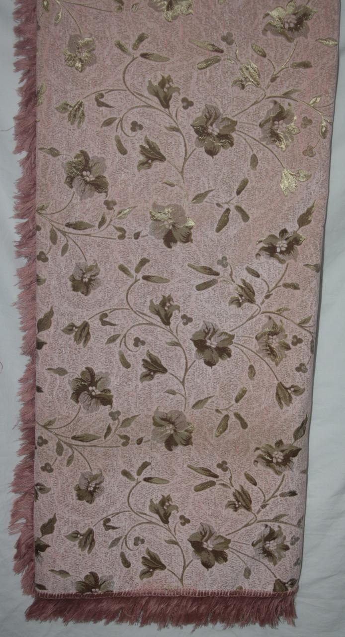 Покрывала (дивандеки) гобеленовые на большой диван и два кресла Глория розовый
