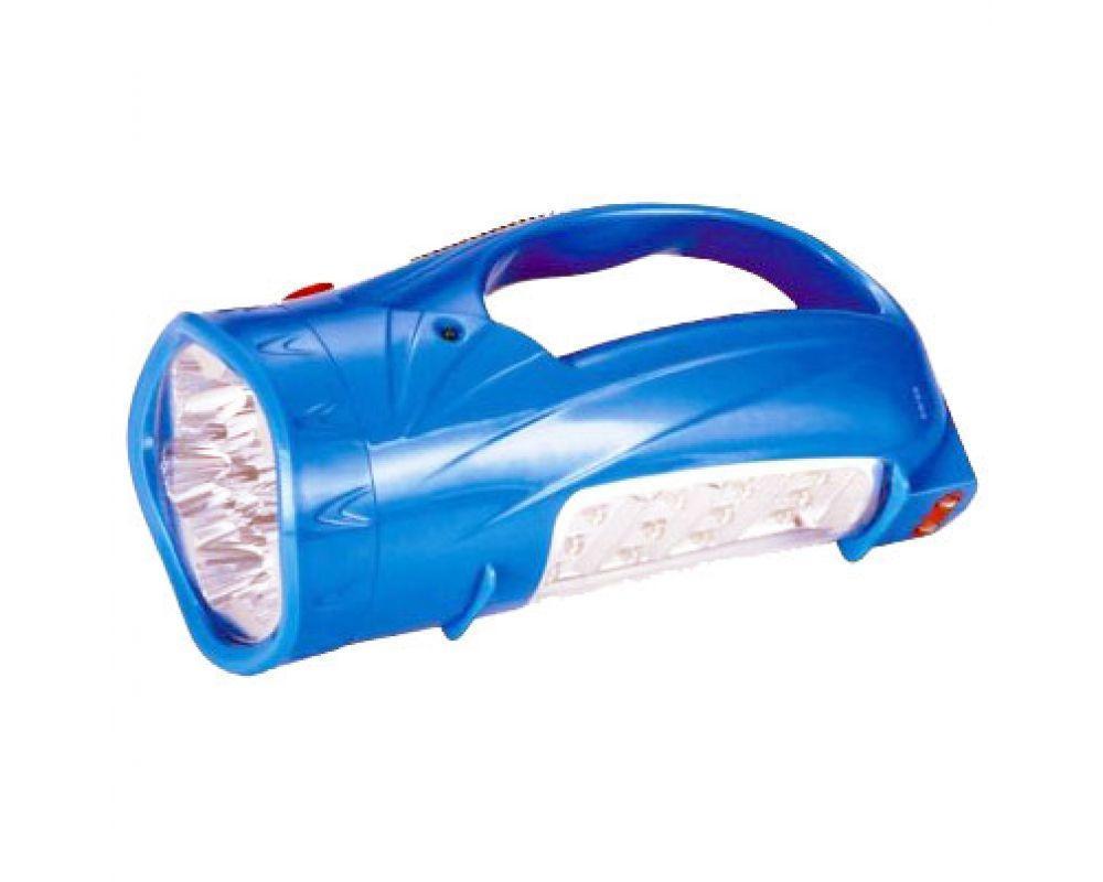 Фонарь хозяйственный, светодиодный, аккумуляторный YJ-2812 13 +12 Led