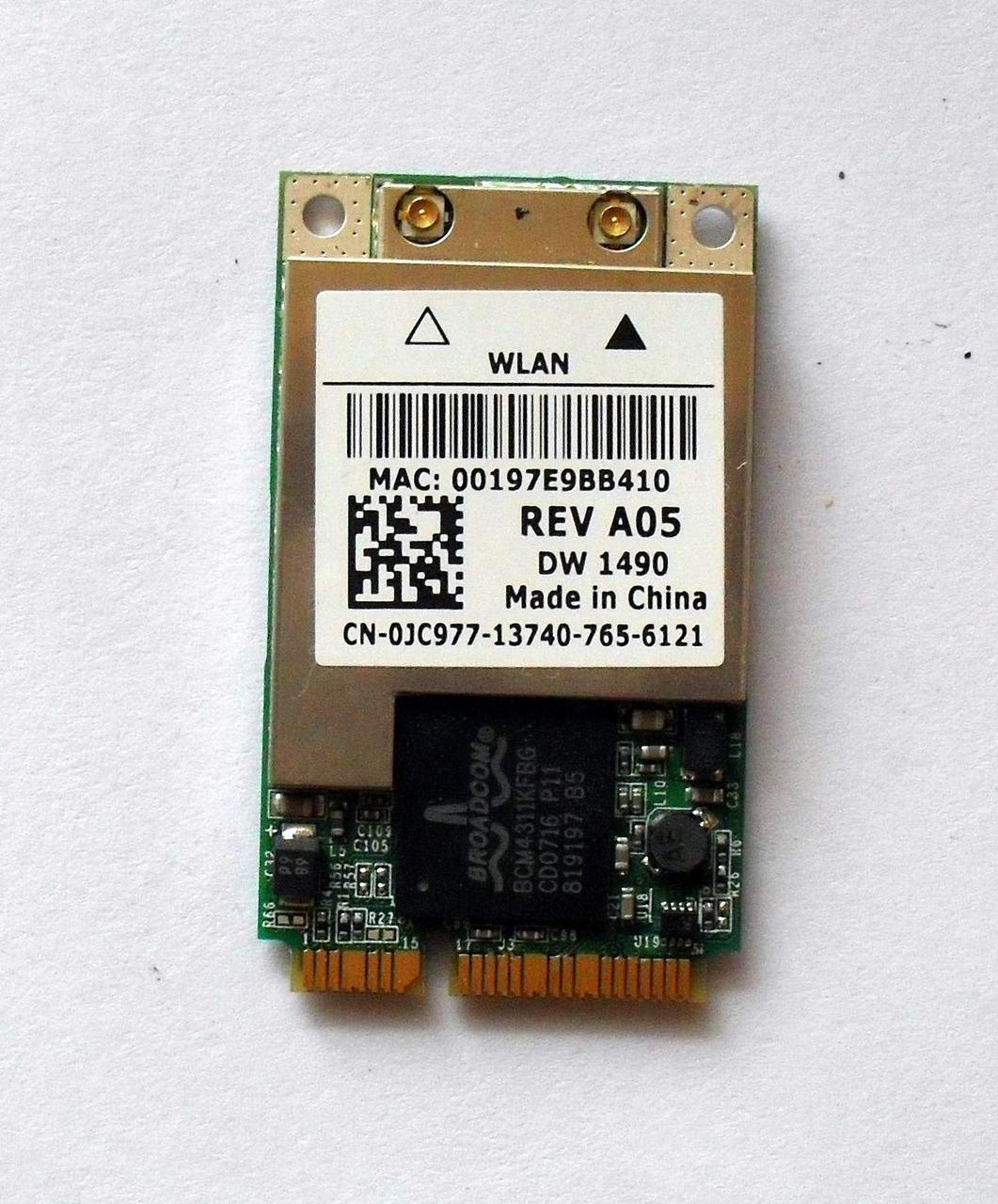 DELL 1490 WIRELESS DRIVER FOR MAC