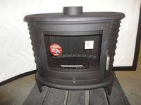 Печь камин Кратки Koza K8 с турбиной распределения теплого воздуха